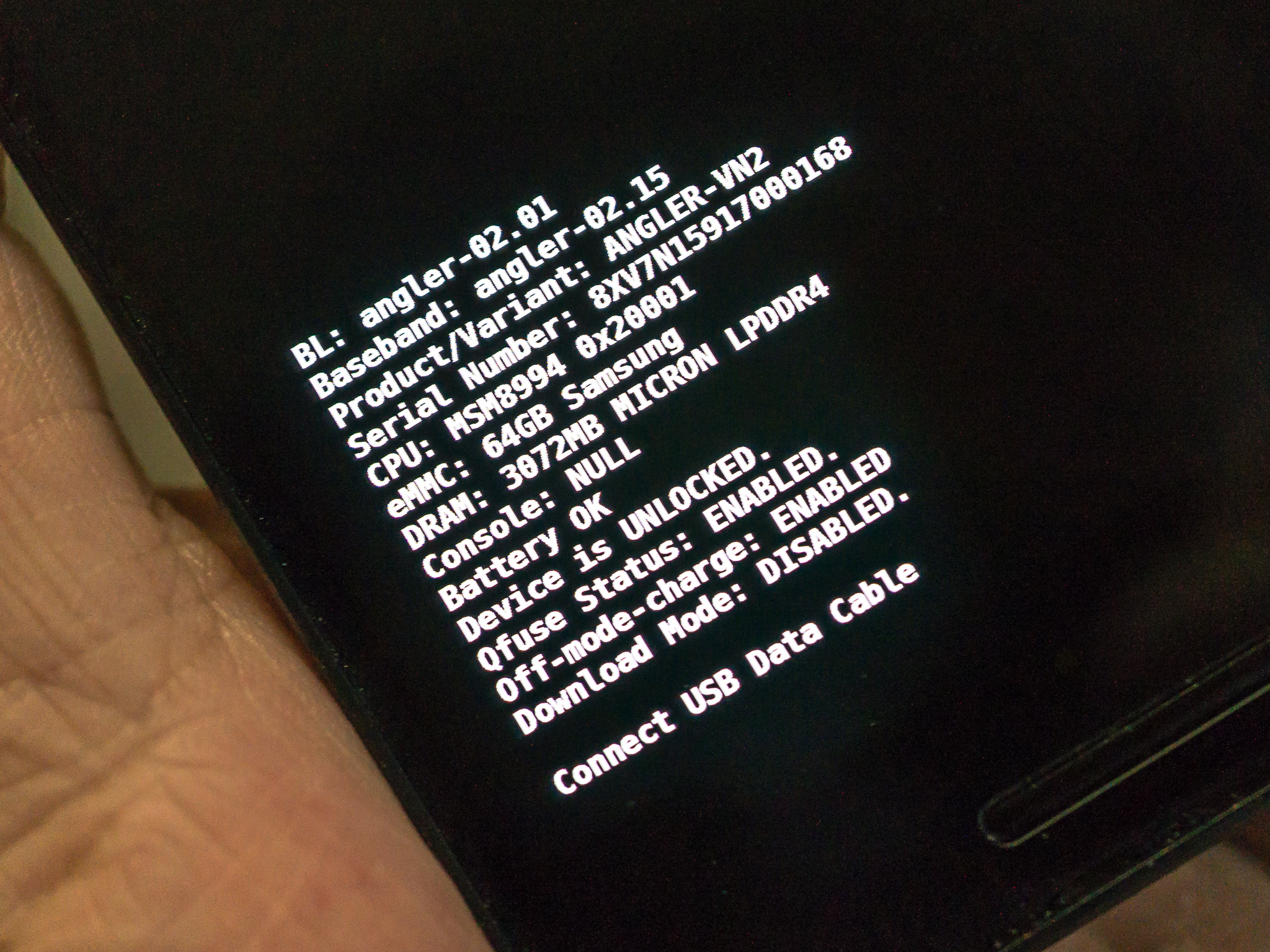 Welcome To Fastboot Mode For Bootloader Unlock